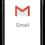 iPhone でGmailの送受信の設定